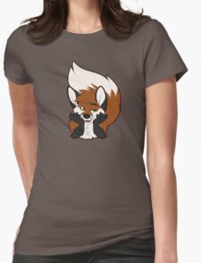 Sup Fox Womens Fitted T-Shirt