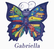 A Yoga Butterfly for Gabriella Kids Tee