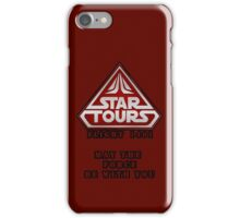 Star Tours 1401- RED iPhone Case/Skin