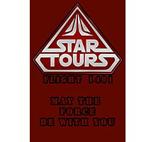 Star Tours 1401- RED Photographic Print