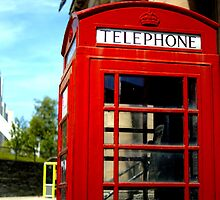 Telephone Box - Liverpool by littleinca