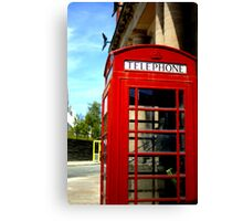 Telephone Box - Liverpool Canvas Print