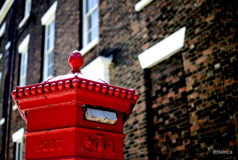 Post box - Liverpool, England by littleinca