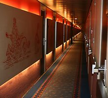 E Deck Corridor at 1:24AM by aussiebushstick