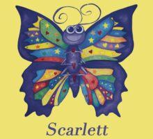 A Yoga Butterfly for Scarlett Kids Tee