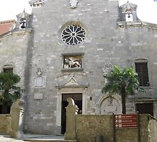 Church of the birth of Blessed Saint Mary by machka