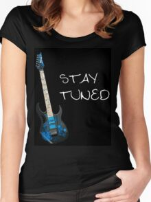 Guitar Puns Women's Fitted Scoop T-Shirt
