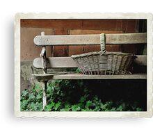 Bench of Memories - Wynstay - Mt Wilson NSW Australia Canvas Print