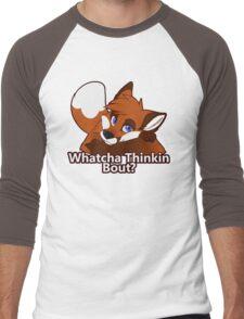 Whatcha Thinkin Bout? Men's Baseball ¾ T-Shirt