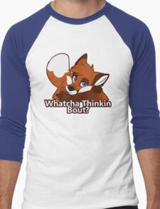 Whatcha Thinkin Bout? Men's Baseball ¾ T-Shirt