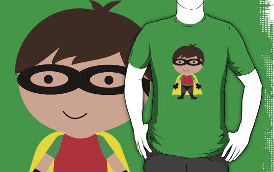 Cutie Robin (The Boy Wonder) by melissagavin