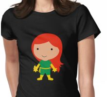 Cutie Jean Grey Womens Fitted T-Shirt