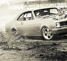 DIZYHG Tread Cemetery Burnout by VORKAIMAGERY