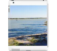 Rye harbour highest tide iPad Case/Skin