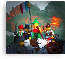 14 juillet: Liberty on the Barricades Canvas Print