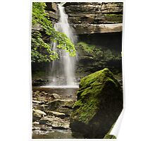 Summerhill Force, Bowlees Beck, Upper Teesdale England, FT 6  Poster
