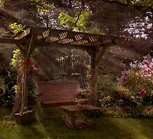 Backyard Oasis by Robin Webster