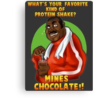 Punch-Out!! : Doc's protein shake Tee Canvas Print
