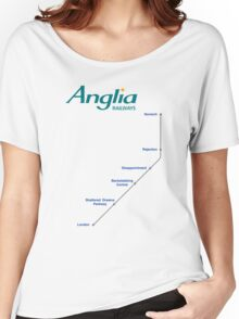 I'm Alan Partridge – Alan's Train to London Women's Relaxed Fit T-Shirt