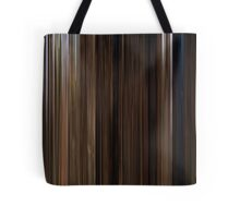 Moviebarcode: Back to the Future Part III (1990) Tote Bag
