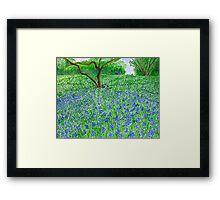 Spring Bloom spread Framed Print