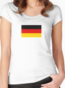 Germany World Cup Flag - Deutschland T-Shirt Women's Fitted Scoop T-Shirt