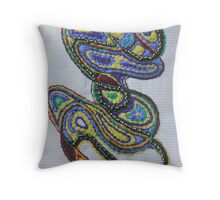 Paisley Path Throw Pillow