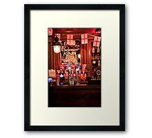 King of Beers Framed Print