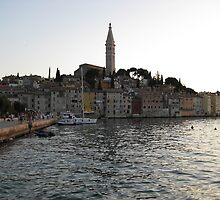 Rovinj at dusk by machka