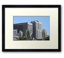 Artifical Trees Framed Print