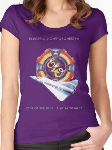 E.L.O. Live WEMLEY Women's Fitted Scoop T-Shirt