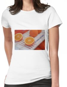 Oranges Womens Fitted T-Shirt