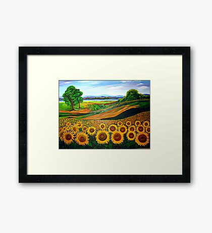 Flowers of Joy Framed Print