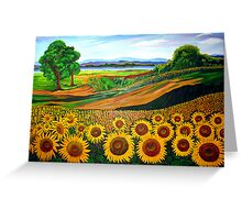Flowers of Joy Greeting Card