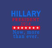 HILLARY CLINTON 2016 for PRESIDENT Women's Fitted V-Neck T-Shirt