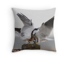 Mind Your Manners 2 Throw Pillow