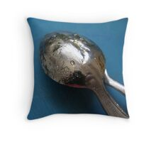 KITCHEN LONDON 4 DELICIOUS SPOONS Throw Pillow