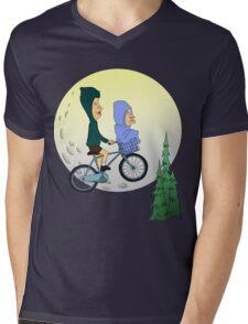 Beavis and Butthead ET Mens V-Neck T-Shirt