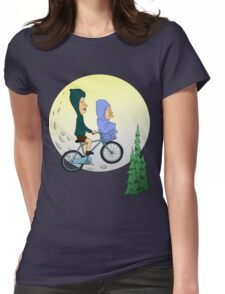 Beavis and Butthead ET Womens Fitted T-Shirt