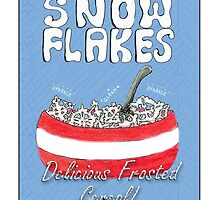 Snow Flakes Christmas Cereal by doonesdoodles