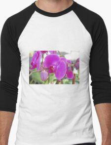 Orchid Men's Baseball ¾ T-Shirt
