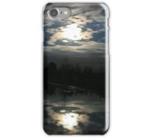 Night time reflections iPhone Case/Skin