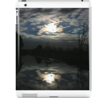 Night time reflections iPad Case/Skin