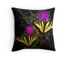 Stick Together ~Swallowtail Butterflies ~ Throw Pillow