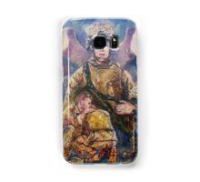 Fallen Soldier Angel Print Samsung Galaxy Case/Skin