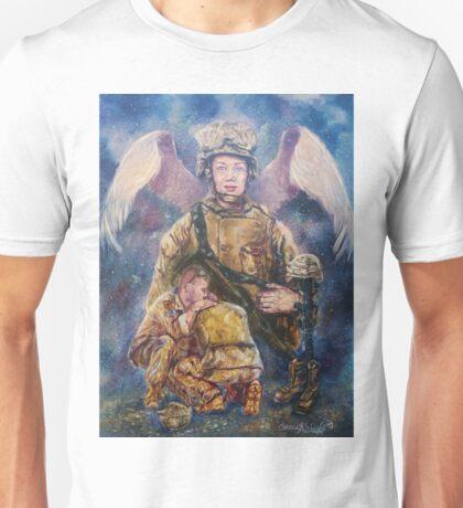 Fallen Soldier Angel Print Unisex T-Shirt