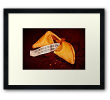I Spent A Fortune On This Cookie. Framed Print