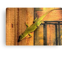 My Chameleon Friend Metal Print