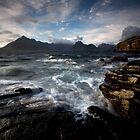 Loch Scavaig and the Cuillin by Roddy Atkinson