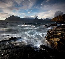 Loch Scavaig and the Cuillin by Roddy Atkinson
